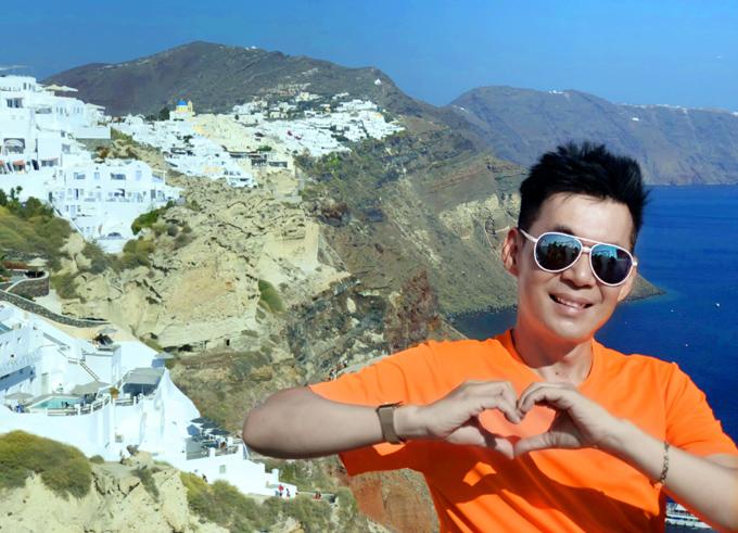 Đoan Trường mê mẩn cảnh đẹp ở Hy Lạp - ảnh 6