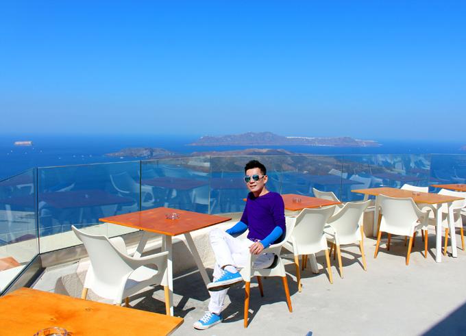 Đoan Trường mê mẩn cảnh đẹp ở Hy Lạp - ảnh 7