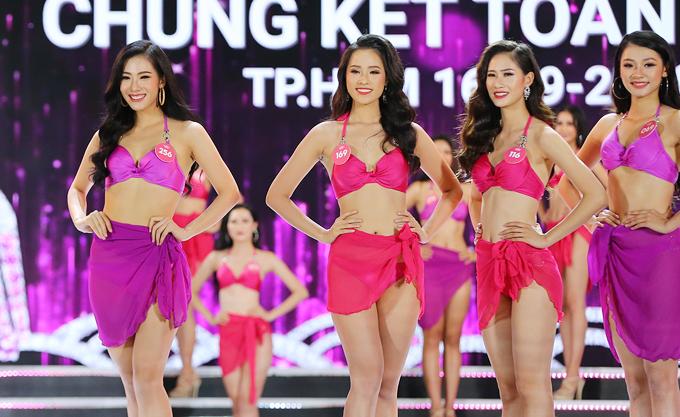 Nữ sinh 18 tuổi Trần Tiểu Vy đăng quang Hoa hậu Việt Nam 2018 - ảnh 10
