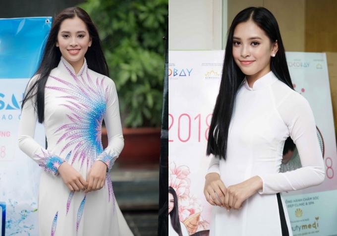 Hành trình đến vương miện Hoa hậu Việt Nam 2018 của Trần Tiểu Vy - ảnh 1