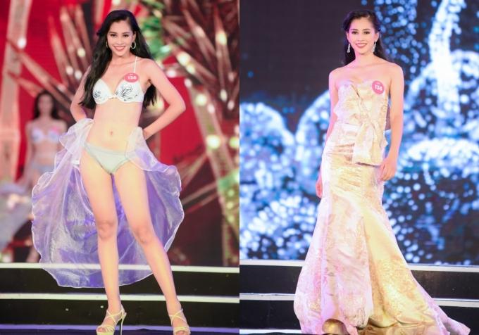 Hành trình đến vương miện Hoa hậu Việt Nam 2018 của Trần Tiểu Vy - ảnh 4