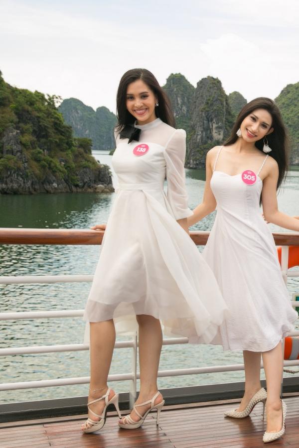 Hành trình đến vương miện Hoa hậu Việt Nam 2018 của Trần Tiểu Vy - ảnh 6