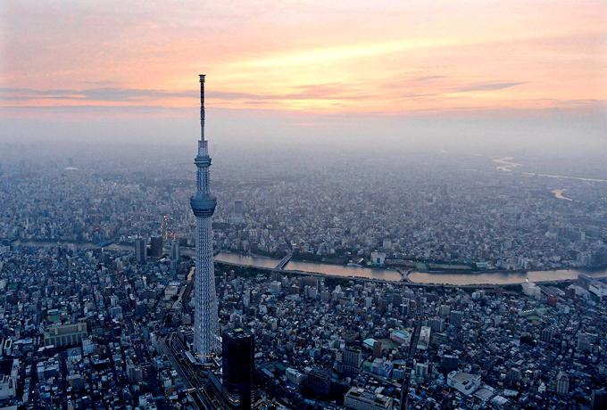 Tokyo Skytree - điểm đến không nên bỏ qua ở xứ sở mặt trời mọc - 2
