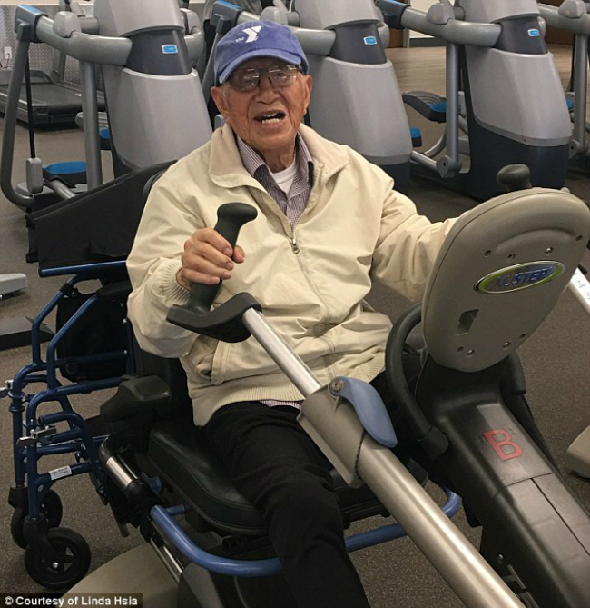 111 tuổi, cụ ông người Nhật trồng cây chuối, đến phòng gym mỗi ngày - ảnh 3
