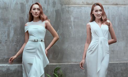 Tô Uyên Khánh Ngọc gợi ý chọn váy đi tiệc cho nàng văn phòng