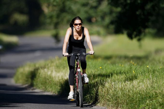 Kate là người mê các bộ môn thể thao, trong đó có đạp xe. Cô thường đạp xe vào sáng sớm trong thời gian trước khi bước chân vào Điện Kensington.