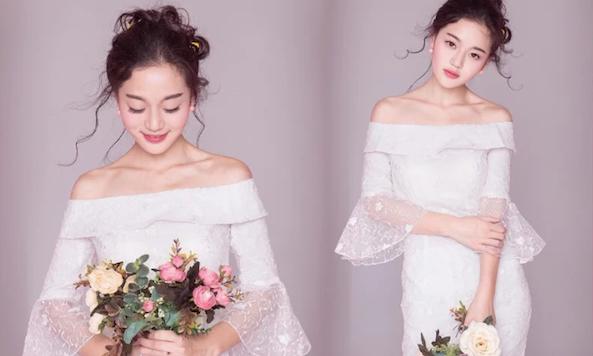 Đầm dự tiệc trắng sang trọng cho mùa cưới 2018