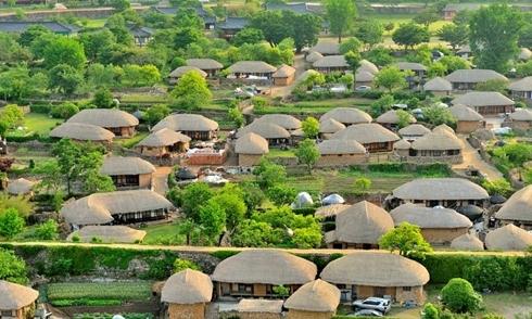 Naganeupseong - ngôi làng 'cây nấm' ở phía nam Hàn Quốc