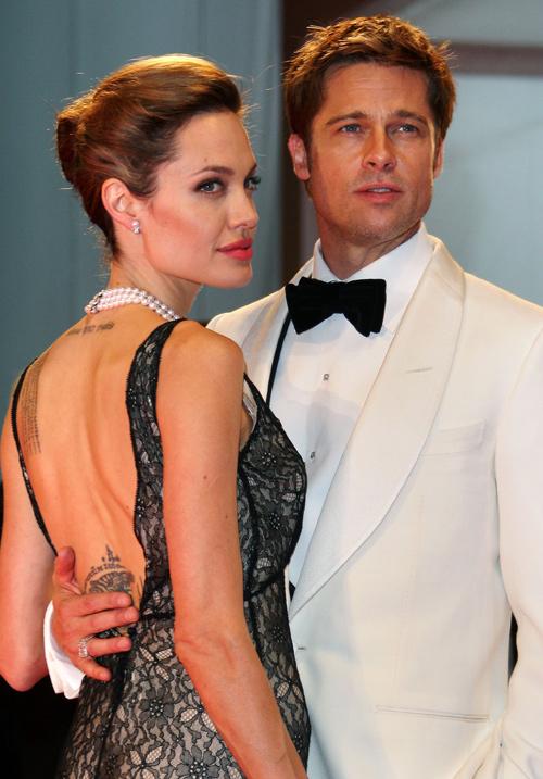 Jolie và người chồng thứ ba, Brad Pitt.