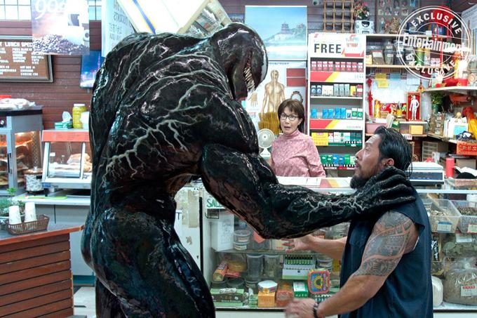 Venom mang tạo hình kinh dị và sức mạnh đáng gờm