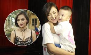 Thu Quỳnh: 'Con trai đòi tắt TV khi thấy mẹ bị đánh trong phim'