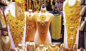 Khu chợ bán vàng 'la liệt như rau' ở Dubai