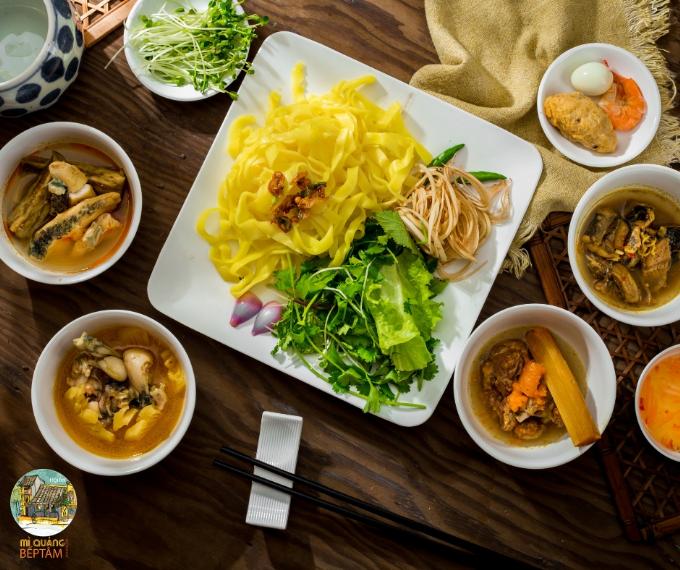 Mỳ Quảng - món ăn rất được yêu thích của xứ Quảng.