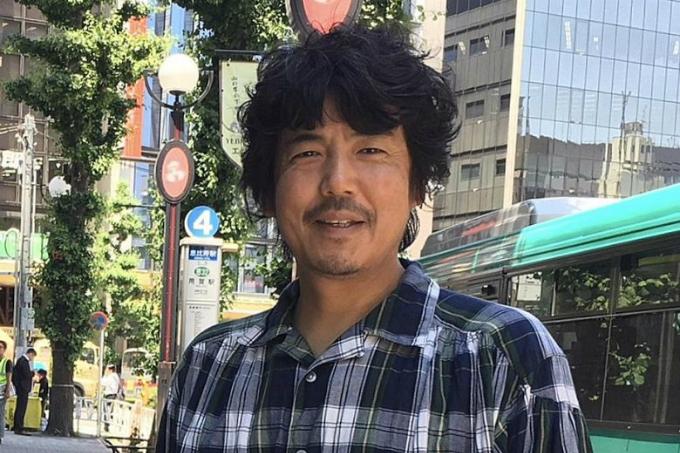 Takanobu Nishimoto, 50 tuổi, người lãnh đạo tập đoàn 80 ông chú Nhật Bản. Ảnh:TheStraits Times.