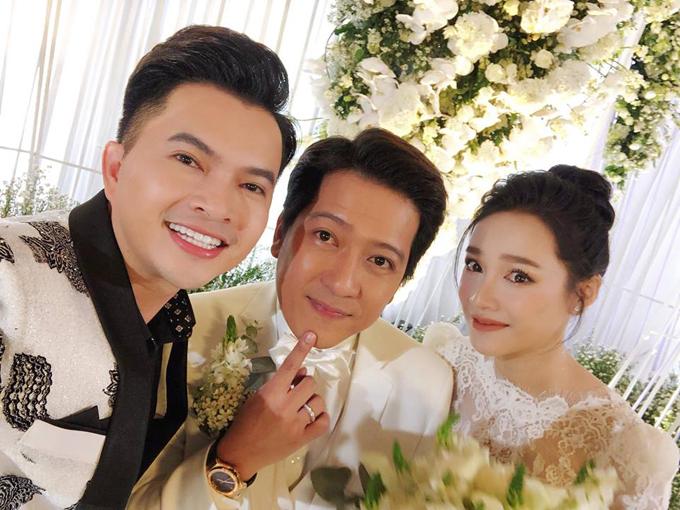 Trường Giang lau nước mắt cho Nhã Phương trong hôn lễ - 1