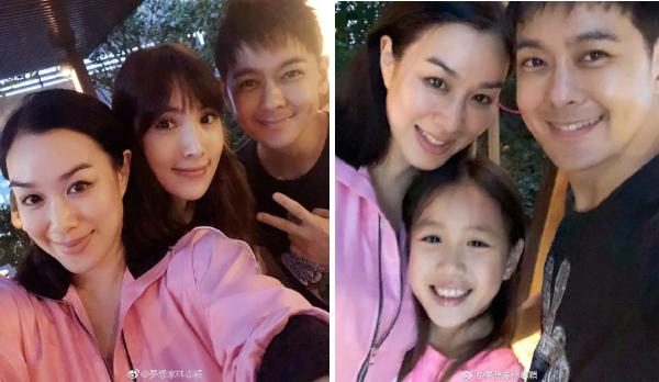 Gia đình Chung Lệ Đề và bạn thân Lâm Chí Dĩnh đã có một buổi hội ngộvui vẻ trong ngày 24/9, khi làm tiệc nướng trong vườn nhà.