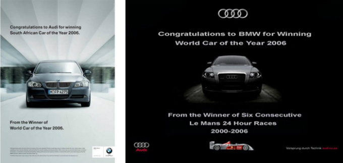 BMW chúc mừng đểu nhau. Ảnh: Reddit.