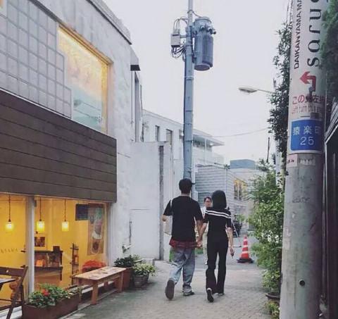 Trịnh Sảng và bạn trai đi du lịch Nhật Bản hồi tháng 7.