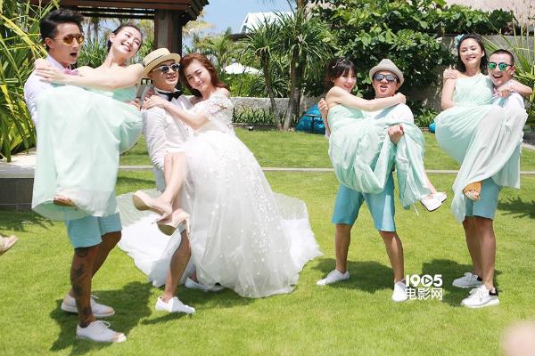 Đám cưới của cựu thành viên Running man Trung Quốc Bao Bối Nhĩ cũng thu hút nhiều sự chú ý của khán giả vì quy tụ nhiều gương mặt nổi tiếng như Hange