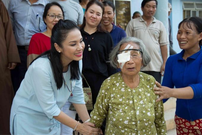 Chuyến từ thiện được tổ chức nhân sinh nhật sắp tới của Việt Trinh vào ngày 27/11 sắp tới.
