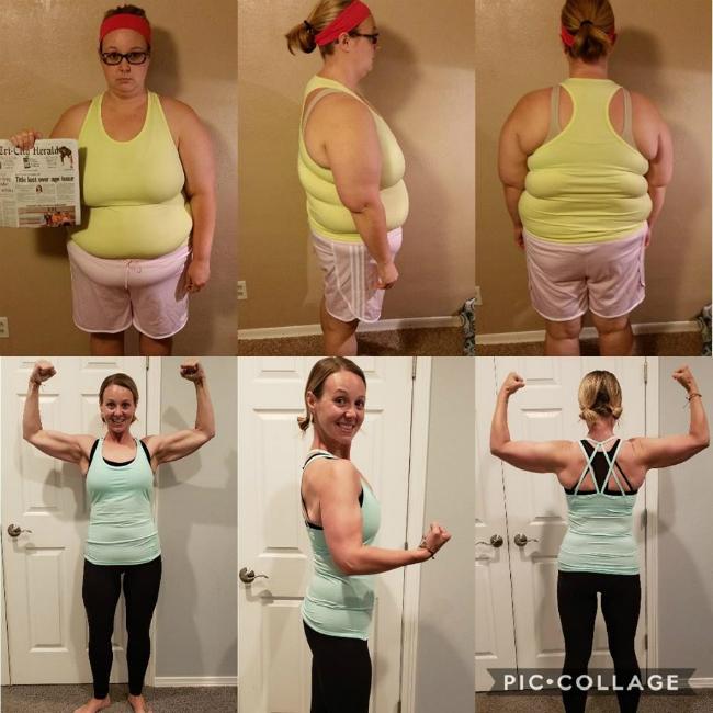 Nhờ sự quyết tâm, nỗ lực, Tara đã giảm được 51 kg, cải thiện cả vóc dáng lẫn sức khỏe.