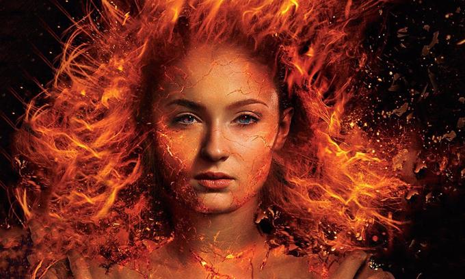 Sophie Turner trong vai Jean Grey. Ảnh: IMDb