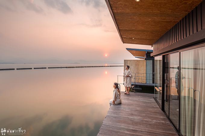 Resort nổi trên mặt nước sang xịn ở Thái Lan - 3