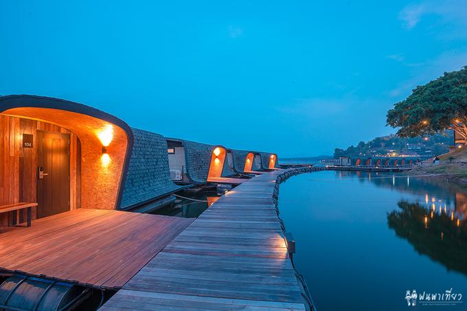 Resort nổi trên mặt nước sang xịn ở Thái Lan - 11
