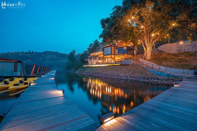 Resort nổi trên mặt nước sang xịn ở Thái Lan - 6