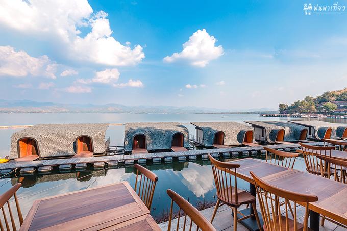 Resort nổi trên mặt nước sang xịn ở Thái Lan - 9