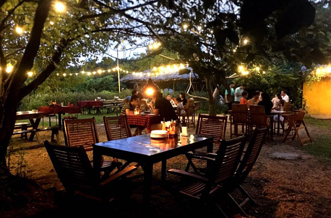 Địa chỉ cuối tuần: Ba không gian ẩm thực bên bờ sông Hồng - ảnh 3