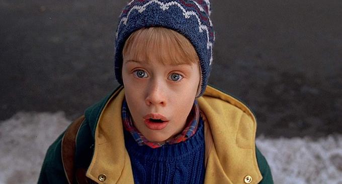 Macaulay Culkin lúc nhỏ trong phim Ở nhà một mình. Ảnh: IMDb