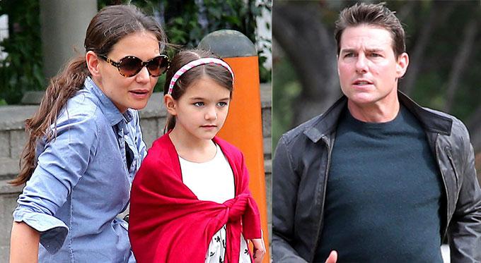 Katie được cho là phải giữ im lặng về Tom Cruise nếu muốn giữ quyền nuôi bé Suri.