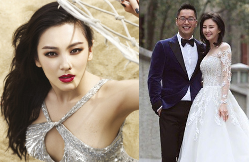 Trương Vũ Kỳ lấy chồng được hơn một năm thì chia tay. Ảnh: ON