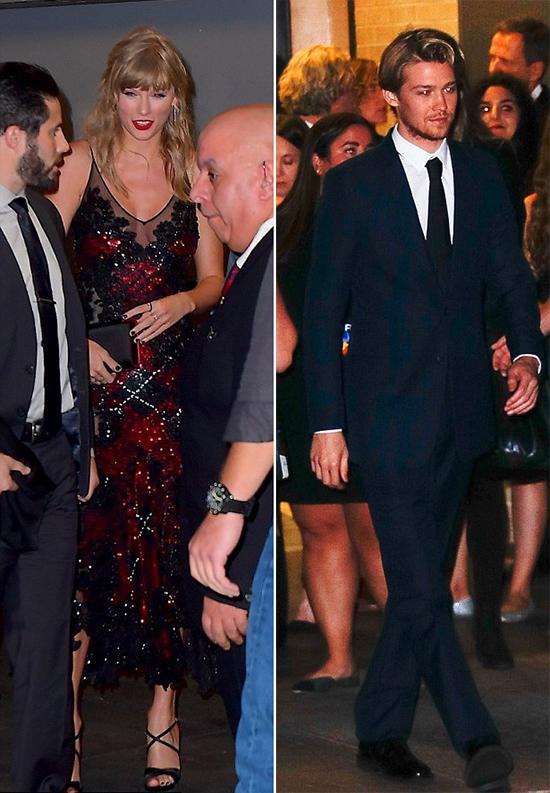 Cả hai cùng nhau trở về căn hộ sang trọng của Taylor ở Tribeca, New York.
