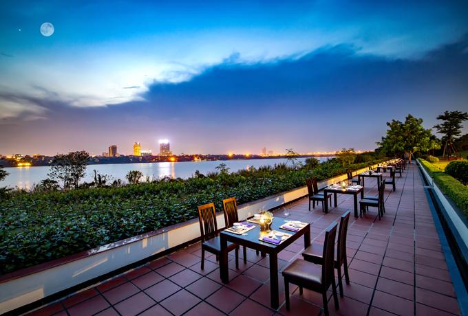 Địa chỉ cuối tuần: Ba không gian ẩm thực bên bờ sông Hồng - ảnh 1