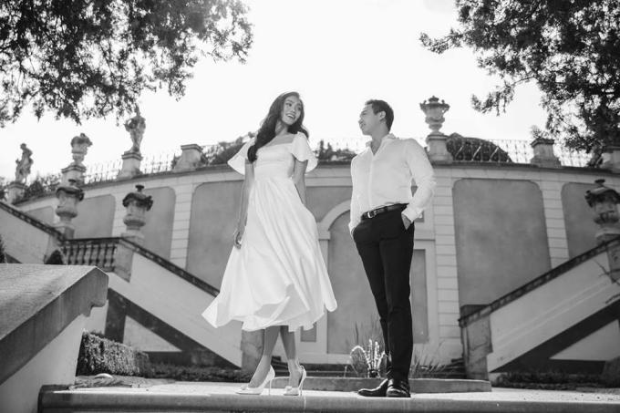 Lan Khuê chụp ảnh cưới với ông xã Tuấn John ở châu Âu - 2