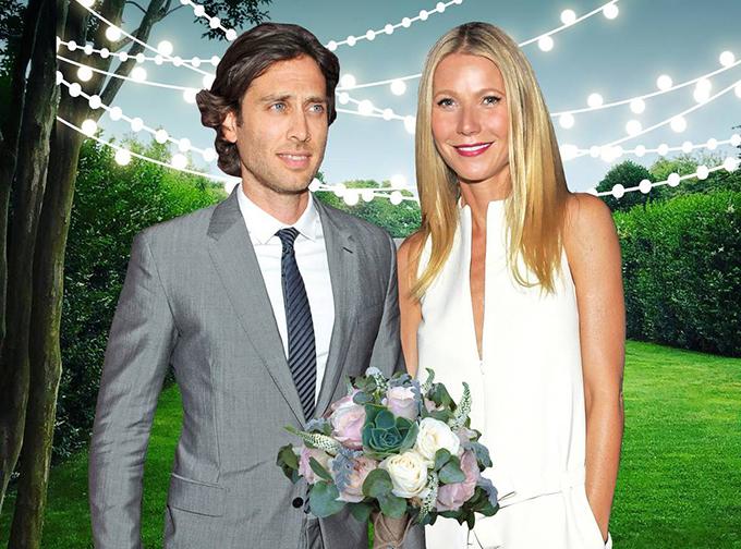 Gwyneth Paltrow làm đám cưới với giám đốc sản xuất phim Glee tại biệt thự của cô.