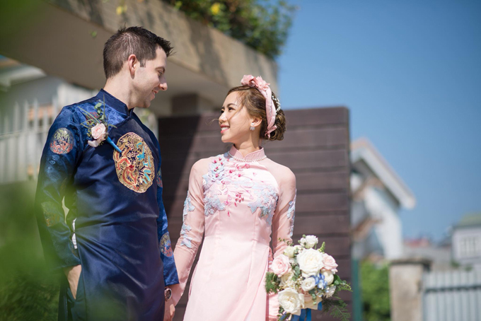 5 bí quyết chọn áo dài cưới cho cô dâu gầy, mảnh mai - 2