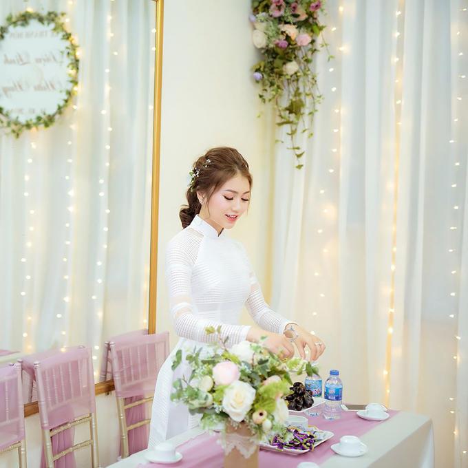 5 bí quyết chọn áo dài cưới cho cô dâu gầy, mảnh mai - 4