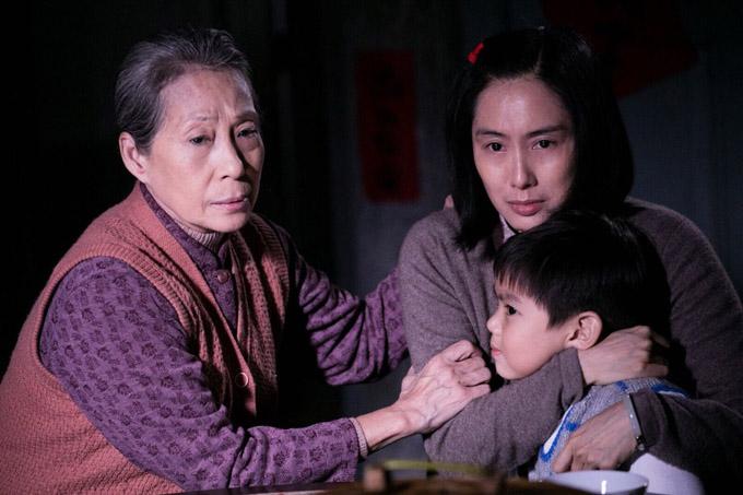 Tạo hình của Chu Ân ở phần đầu phim. Ảnh: Now