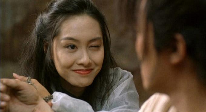 Chu Ân trong phim Đại thoại Tây Du đóng cặp với Châu Tinh Trì. Ảnh: iFeng