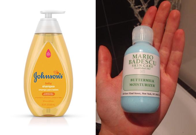 Hai món mỹ phẩm được Heidi Klum tin dùng trong nhiều năm.