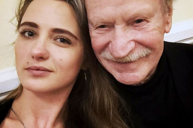 Ivan Krasko muốn ly hôn cô vợ Ivan Krasko (ảnh) để cưới người con gái khác.