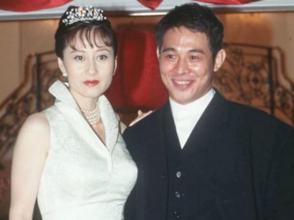 Lý Kiên Kiệt cùng vợ hiện tại - Lợi Trí.
