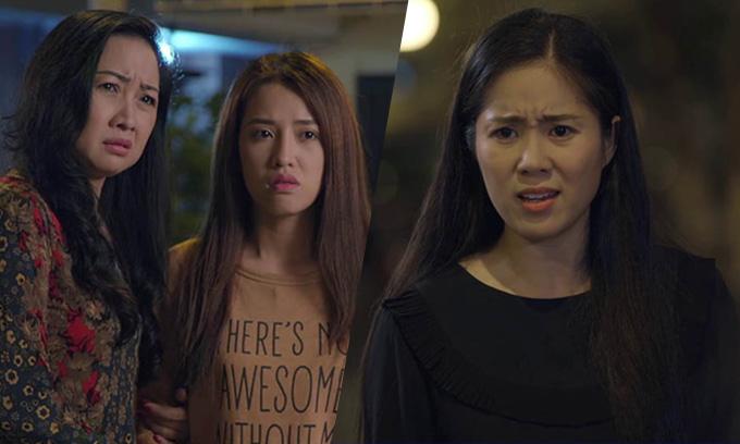 Lê Phương vào vai Hương còn vai mẹ chồng và em chồng của Hương lần lượt do Thiên Hương và Puka đảm nhận.