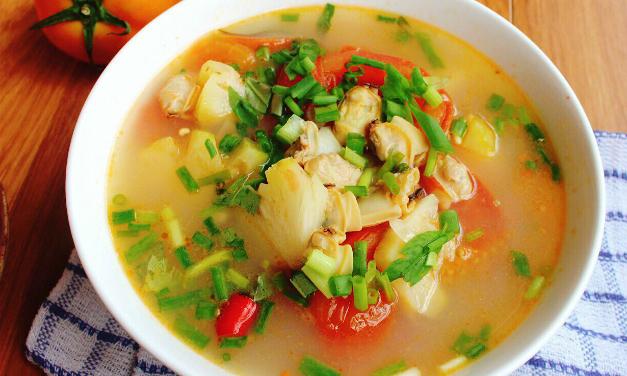 Canh ngao nấu dứa chua ngọt hao cơm - Ngôi sao