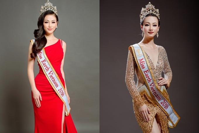 Nguyễn Phương Khánh là Á hậu 2 Hoa hậu Biển Việt Nam toàn cầu 2018. Sau nhiều vòng casting, cô trở thành đại diện Việt Nam thi Miss Earth ở Philippines.