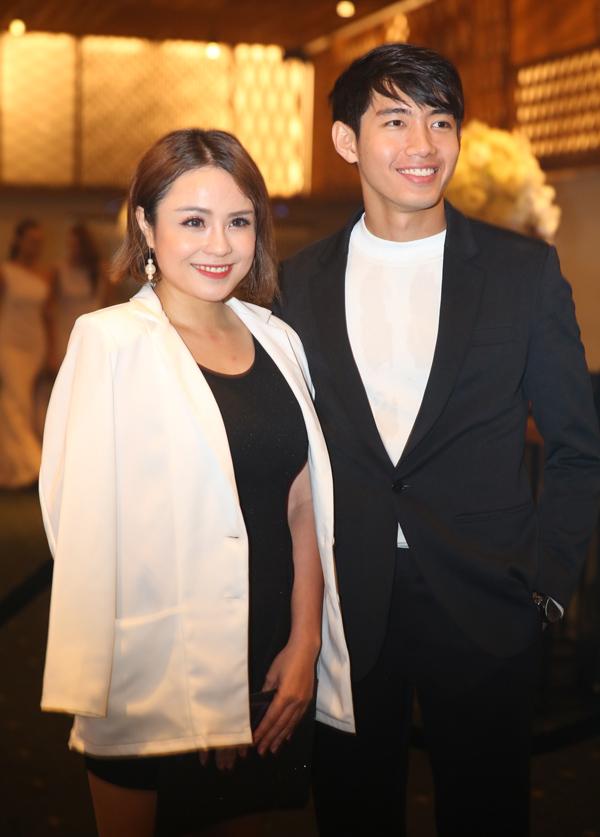 Cặp đôi Thái Trinh - Quang Đăng.