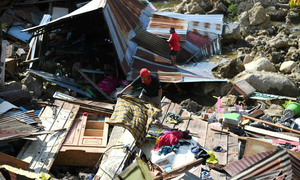 Động đất, sóng thần ở Indonesia